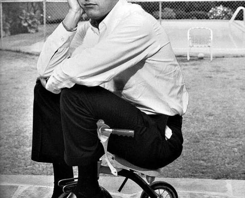 Paul Newman mit Weejuns Pennyloafern von G. H. Bass