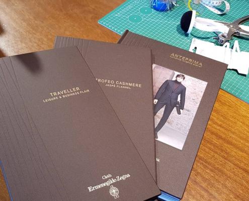 Die neue Stoffkollektion Cloth Ermenegildo Zegna Herbst/Winter 2020