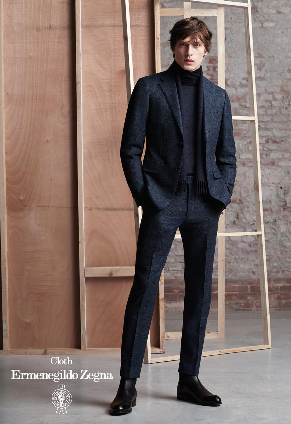 Stoff E. Zegna Herbst/Winter 2020 sportiver Chic