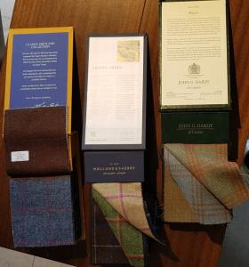 Tweed-Kollektionen von Bill, Huddersfield und Holland & Sherry