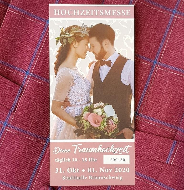 Tickets für die Hochzeitsmesse in Braunschweig 2020