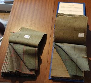 Tweed von Lovat Mill und Porter & Harding