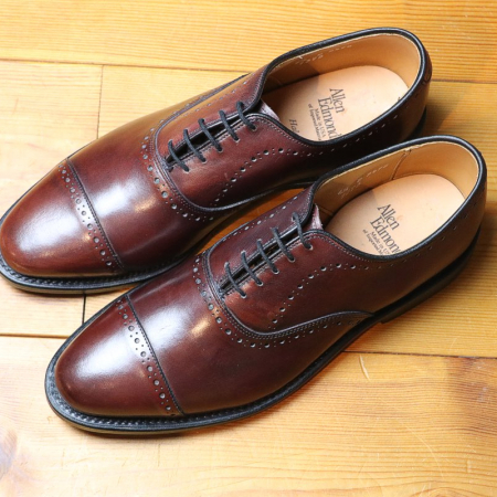Allen Edmonds Hale Merlot - Business Classic